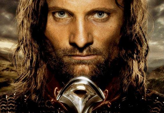 Herói do filme O Senhor dos Anéis