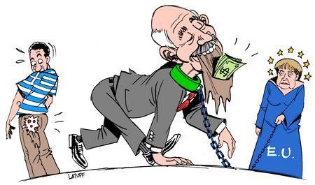 Charge de Carlos Latuff