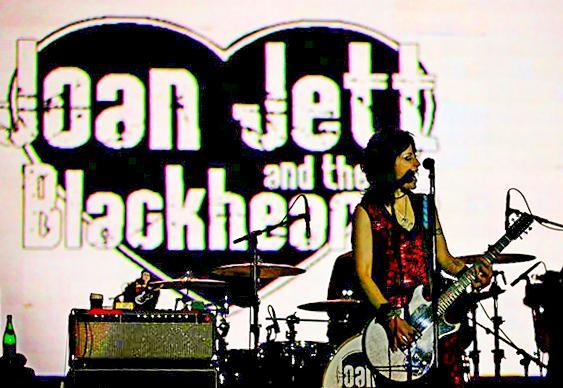 Joan Jett - roqueira no Brasil