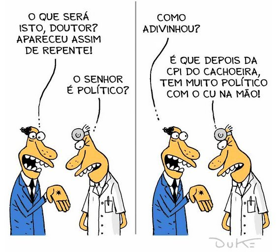 Charge - CPI do Cachoeira