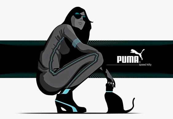 Sapatênis feminino Puma