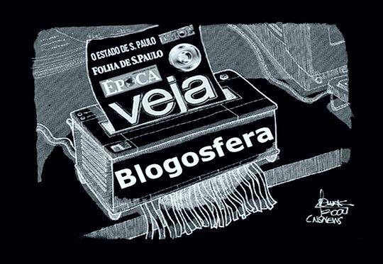 Blogosfera detona mídia golpista