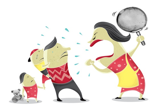 Briga de marido e mulher