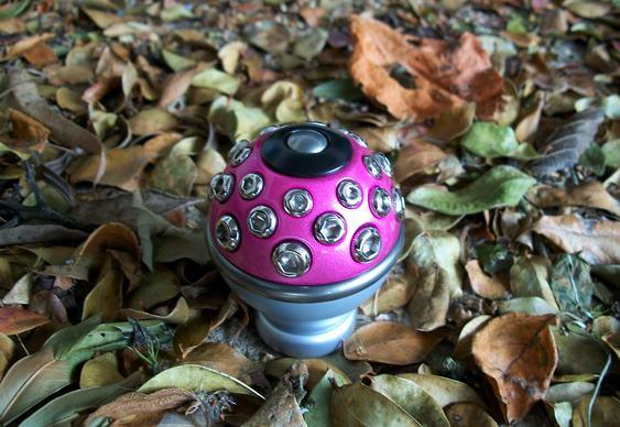 Manopla câmbio pink tuning