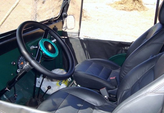 Jeep Willys CJ-5 volante reformado