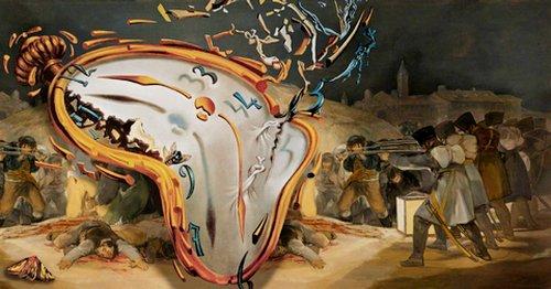 Relógio de Salvador Dali