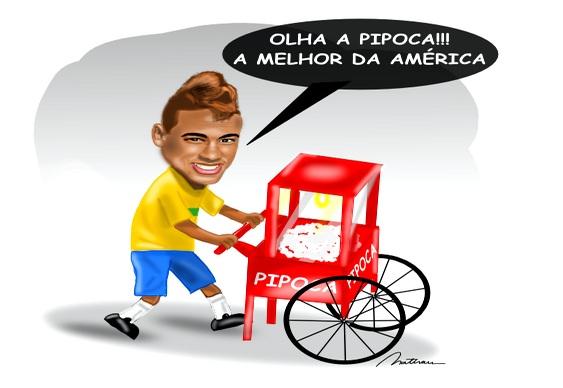 Jogador Neymar - Seleção