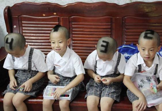 Gêmeos com números na cabeça