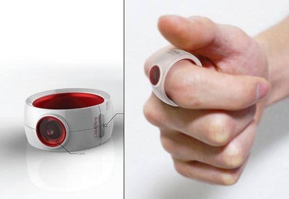 Camer:ing no dedo