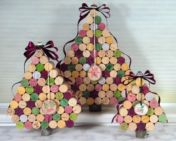 Árcore de Natal reciclada