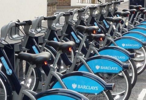 Bicicletas de aluguel em Londres