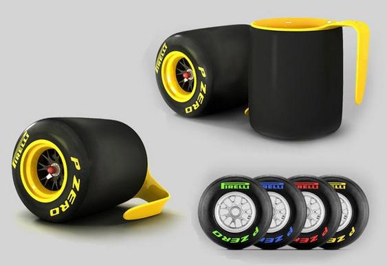 Canequinhas de Pneus Pirelli