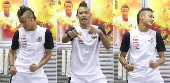 Neymar dançando Ai Se Eu Te Pego