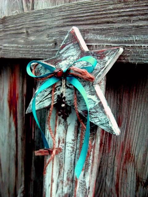 Reciclagem na decoração de Natal