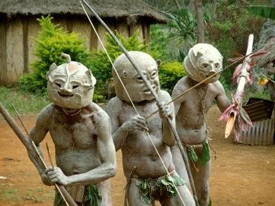 Guerreiros de Papua Guiné