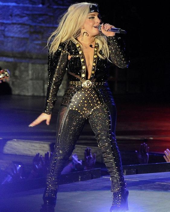 Lady Gaga gorda 2012