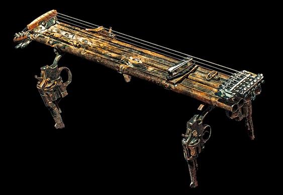 Instrumento musical com revólveres