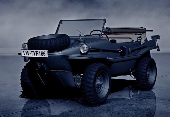 Jipe anfíbio militar VW