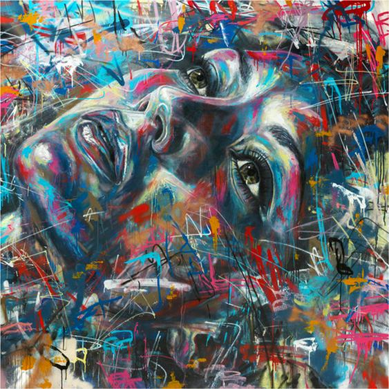 Graffiti Rosto Feminino