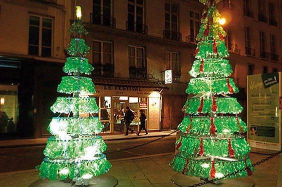 Árvore Natal recicladas