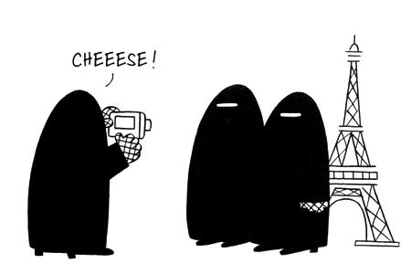 Crítica ao uso de véus por mulheres árabes