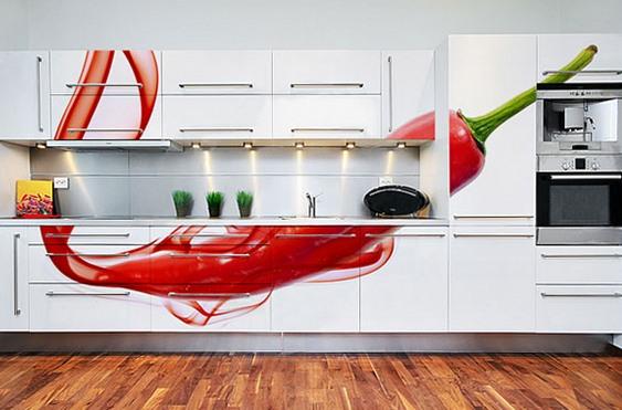 Painéis para cozinhas