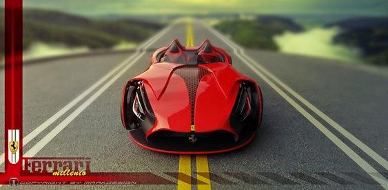 Projeto de Ferrari Millenio