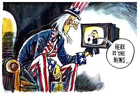 Mentiras da mídia