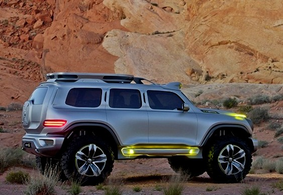 Mercedes-Benz Ener-G-Force Conceito