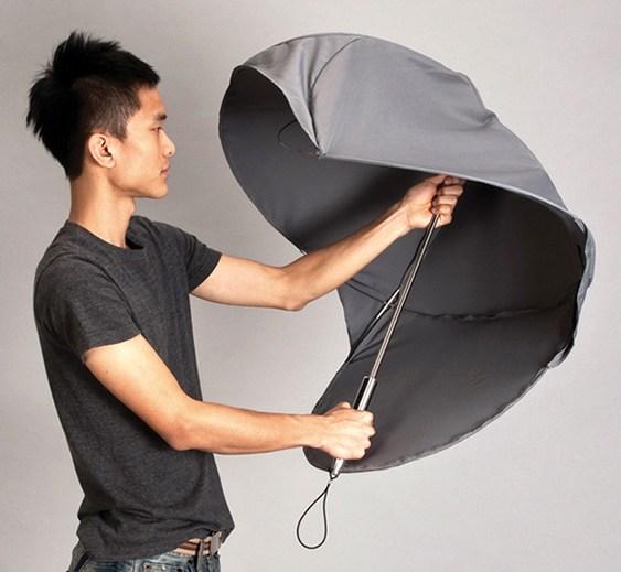 Guarda-chuva pequeno e fácil de carregar