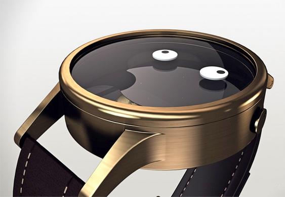 Design de relógio de pulso