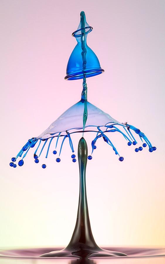 Escultura com pingo d'água