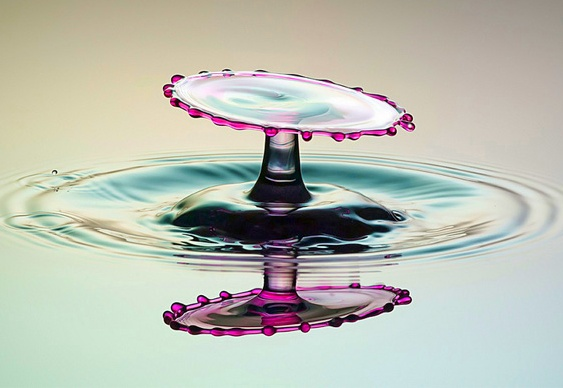 Pingo d'água escultura