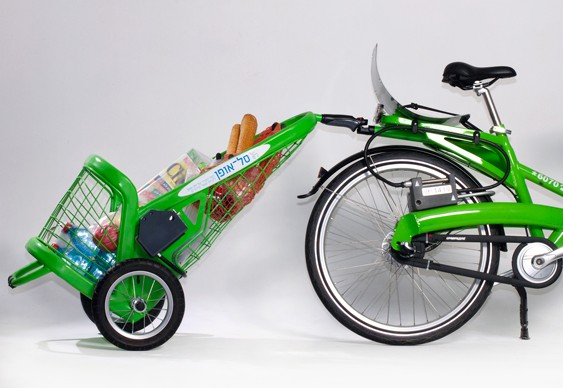 Reboque para bikes