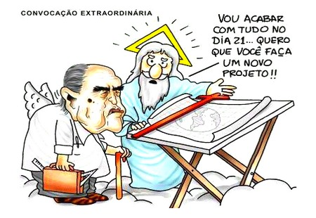 Charge - Oscar Niemeyer 21/12/012