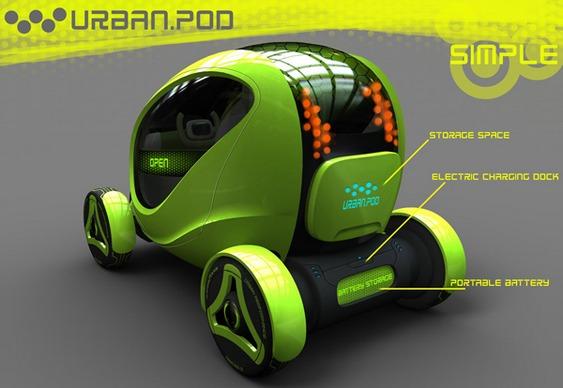 Carro conceito futurista