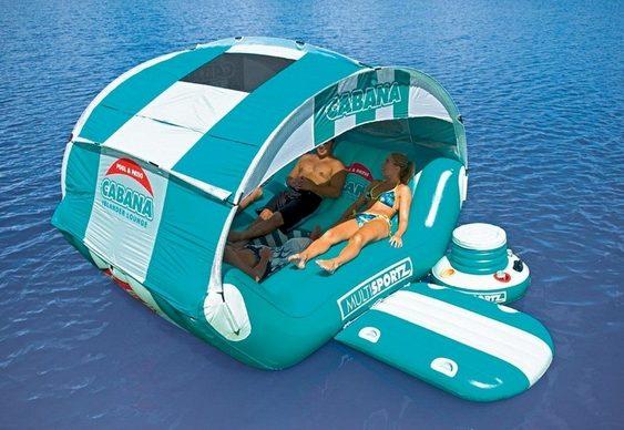 Cabana inflável para acampamento