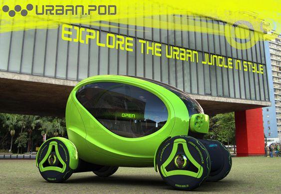 Automóvel futurista