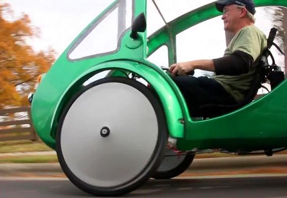 Triciclo Elétrico Elf