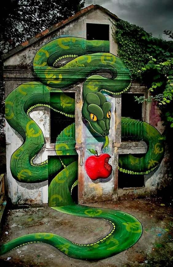 Grafite - pintura em parede