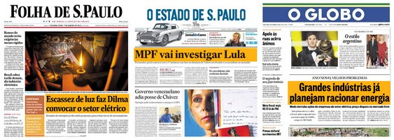 Jornais Manipulação
