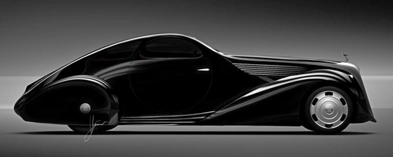 Projeto de carro Rolls-Royce