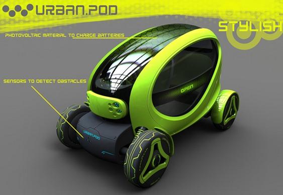 Automóvel urbano do futuro