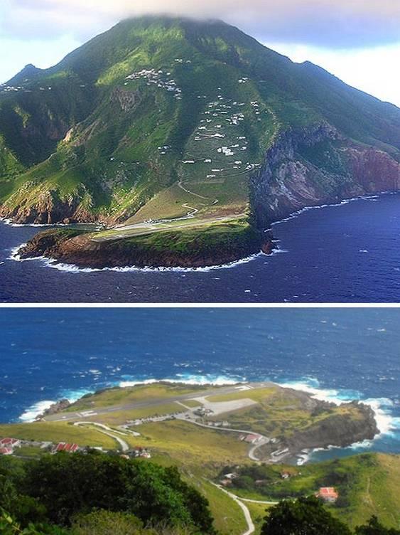 Aeroporto Ilha de Saba