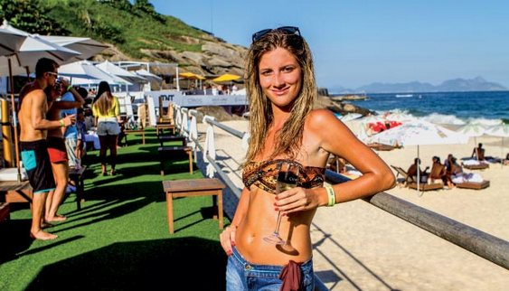 Aqueloo - Copacabana Beach Club