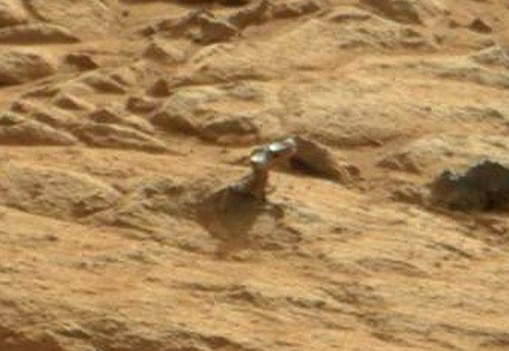 Coisa estranha em Marte