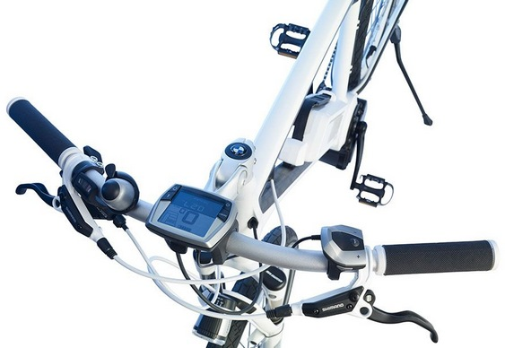 Bicicleta Elétrica de Luxo