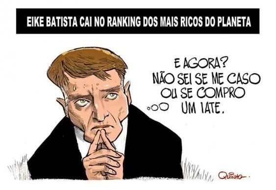 Cartum - Eike Batista mais pobre
