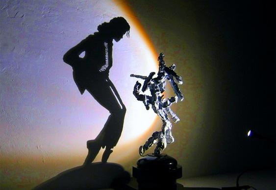 Michael Jackson - Jogo de Luz & Sombras