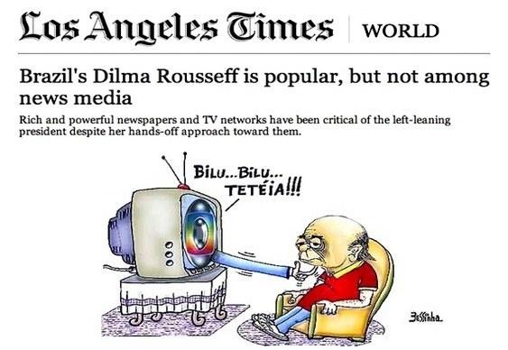 Dilma e Brasil na imprensa internacional